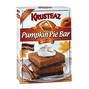 Krusteaz Pumpkin Pie Bar Supreme Mix