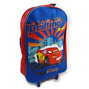 Disney Cars Lightning Mcqueen Trolley Bag Wheeled Bag