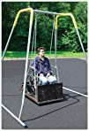 Wheelchair Swing w/Frame Adult Platfo…