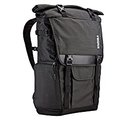TCDK-101 Thule Covert DSLR Rolltop Backpack (Dark Shadow)