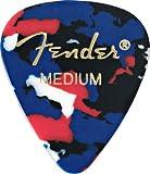 Fender 351 Classic Celluloid Guitar Picks 12-Pack - Confetti - Heavy