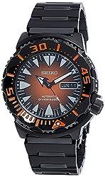 Seiko Superior Analog Orange Dial Mens Watch - SRP311K1