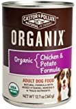 Castor & Pollux Organix Chicken and Potato Adult Dog Food, 12.7 Ounce Cans (Pack of 12)