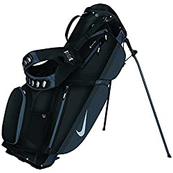 Nike Air Sport Stand Golf Bag Black/Silver/Dark Grey