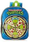 Nickelodeon Boys Teenage Mutant Ninja Turtles Pizza Mini Backpack