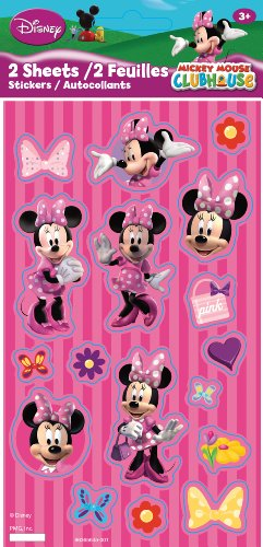 Paper Magic Minnie's Bowtique Valentine Themed Flat Stickers