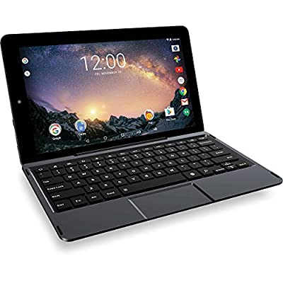 """RCA Galileo Pro 11.5"""" 32GB Tablet with Keyboard Case Android 6.0 BLACK Touchscreen"""