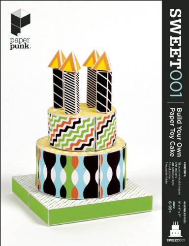 Paper Punk Build Your Own Paper Toy Cake - 1