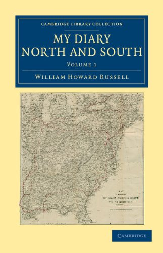 Mi diario norte y sur (colección de la biblioteca de Cambridge - historia de América del norte)
