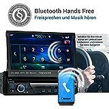 1DIN-Autoradio-CREATONE-CTN-8423D26-mit-GPS-Navigation-Bluetooth-DVD-Player-Touchscreen-und-USBSD-Funktion