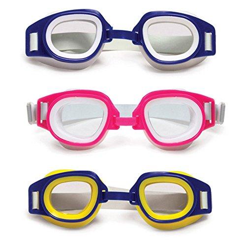 Poolmaster Junior Racer Child Goggles - 6 Pack (2 EA Color)