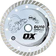 OX Group USA OX-DU10-4 Full Rim Masonry Diamond Blade