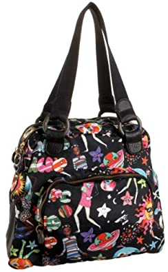 Julie Apple Satchmo Tote,Space Age,one size