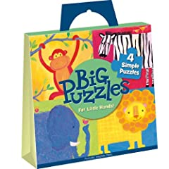Amazon.com: PZG2 - Zoo Animals Big Puzzles: Peaceable Kingdom Press, Stephanie Bauer: Books