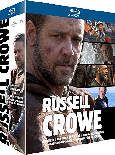 Coffret Russell Crowe: Robin des Bois + Gladiator + Master & Commander + Noé + Un homme d'exception [Blu-ray] (Master Commander Blu Ray compare prices)