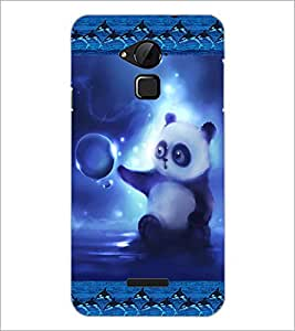 PrintDhaba Cute Panda D-3621 Back Case Cover for COOLPAD NOTE 3 LITE (Multi-Coloured)