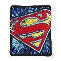 "Superman Shield Super Plsuh Throw(Measures 46"" by 60"")"