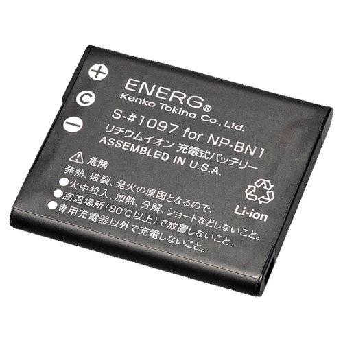 Kenko ENERG デジタルカメラ用バッテリー ソニーNP-BN1対応 S-#1097