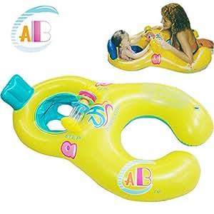 Amazon.com : Abc mother ring baby swim ring armpits ring seat child