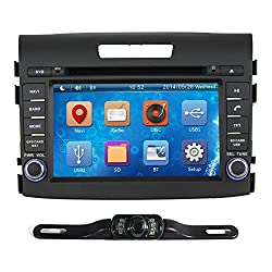 See Pumpkin 7 Inch For HONDA CR-V 2012-2014 In Dash HD Touch Screen Car DVD Player GPS/SWC/SD/USB/BT/FM/AM Radio Stereo Navigation with free reverse backup rear view reversing camera as gift Details