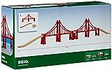 Brio - 33683 - Circuits de train en bois - Double pont suspendu