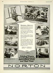 Amazon Com 1927 Ad Norton Grinding Printing Worcester