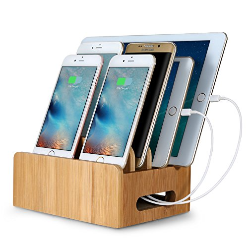Upow-Bambus-Stand-Stand-Multifunktions-Version-Docking-Station-Ladestation-Halterungs-fr-iPhone-iPad