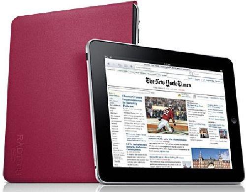 RadTech Sleevz Form Fitting Optex Sleeve for iPad (Fuchsia)