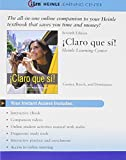 img - for iLrn(TM), 4 terms (24 months) Printed Access Card for Caycedo Garner's Claro que si!, 7th book / textbook / text book