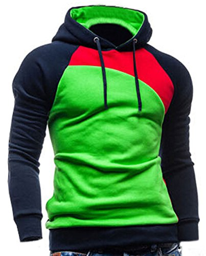 Freedi Men Sports Pull-over Rasta Sweatshirt Outfitter Hoodies Thicken Jackets Coats