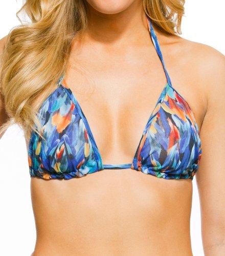 Kiniki Macaw Tan Through Bikini Top