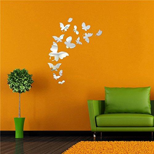 Casanet Murales Adesivi Specchio 14 Farfalla Farfalla