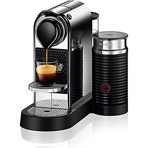 Nespresso C122-US-CH-NE Citiz & Milk Espresso Machine, Chrome (19 Bar Pump Espresso compare prices)