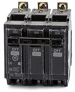 GE Distribution GE 3P 50A 240V Bolt-On Circuit Breaker, THQB32050