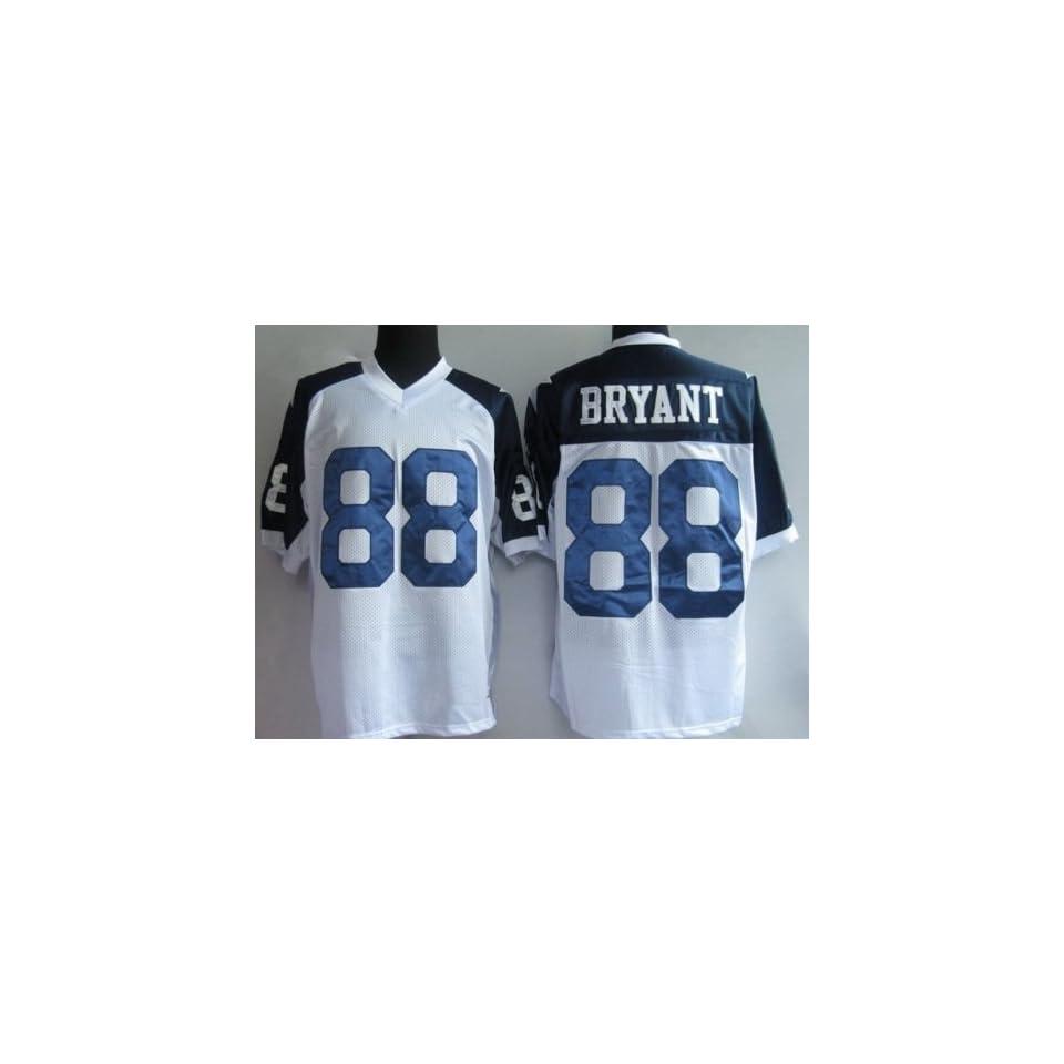 ecdc42fbb32 dallas cowboys #88 dez bryant white thanksgiving jersey on PopScreen