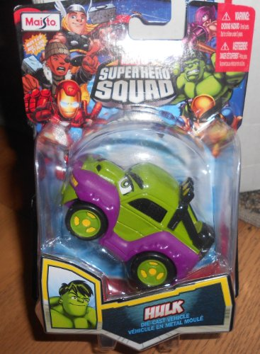 Marvel Super Hero Squad Hulk Die Cast