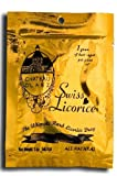 3-Bag Bundle of Chateau D'Lanz Swiss Licorice. Each bag contains 2-oz. of real, all natural black licorice.