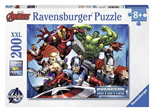 Ravensburger 12814 - Avengers Puzzle, 200 Pezzi