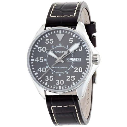 [ハミルトン]HAMILTON 腕時計 Khaki Pilot Auto 38mm(カーキ パイロット オート 38mm) H64425585 メンズ 【正規輸入品】