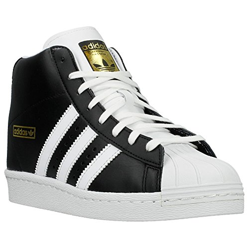 Adidas - Superstar UP W - M19512 - Couleur: Blanc-Noir - Pointure: 44.0