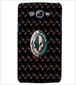 PrintDhaba Skull D-4731 Back Case Cover for SAMSUNG GALAXY ON 5 (Multi-Coloured)