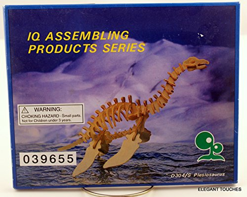 Dinosaur, Plesiosaurus model kit, wood, balsa NIB