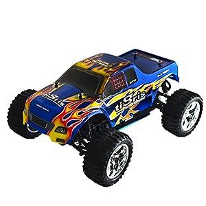 ALEKO RCC1088UBLUE 1/10TH Scale 4WD Nitro Powered Monster Truck, Blue