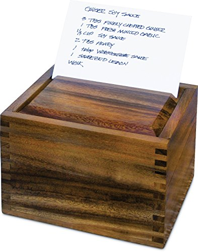 Ironwood-Gourmet-Recipe-Box-Acacia-Wood