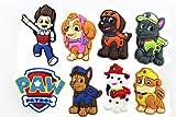 8pcs Puppy Power! (Paw Patrol)shoe Charms Fits Jibbitz Croc Shoes & Wristband Bracelet