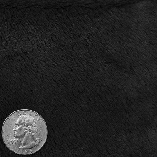 Polyester Faux Fur 03 Black