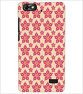 PrintDhaba Pattern D-5254 Back Case Cover for HUAWEI HONOR 4C (Multi-Coloured)
