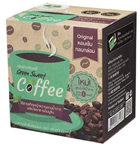 GREEN SWEET COFFEE INSTANT MIXED COFFEE 18G. PACK 10SACHETS (Gloria Jeans Whole Bean Coffee compare prices)