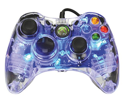 Afterglow Wired Controller for Xbox 360 - Blue (Xbox Wired Controller For Pc compare prices)