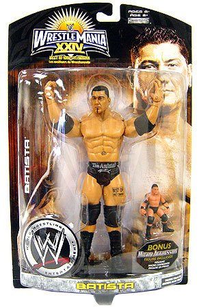 Picture of Jakks Pacific Wrestlemania XXIV: Best Of Wrestlemania John Cena Action Figure (B0015T7DN2) (Jakks Pacific Action Figures)